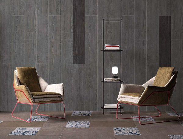 Gạch giả gỗ màu ghi đem mang đến sự đặc biệt cho không gian sở hữu