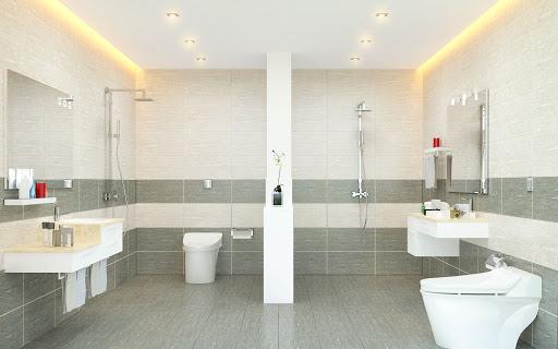 Mẹo phối màu gạch nhà vệ sinh cực đơn giản cho không gian thiết kế